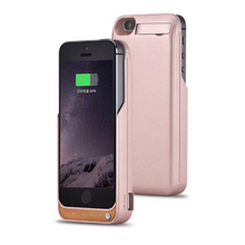 4200mah Portable Backup External Charging Case Cover Charger Case Smart Phone Cover For Iphone 5 5s SE Battery Case Power Bank
