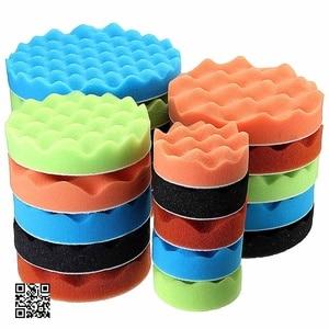 Image 2 - 7x 3567Buffing Sponge Polishing Pad Hand Tool Kit For Car Polisher Compound Polishing