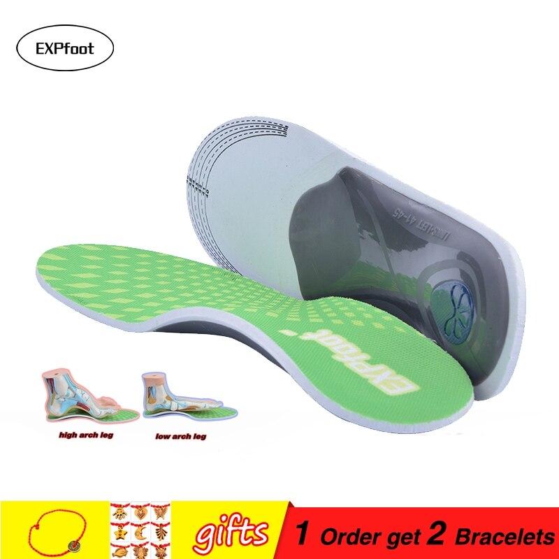 Premium Orthesen Gel Hohe Arch Support Einlegesohlen, Gel Ferse Pad Kissen, 3D Arch Unterstützung für Flache Fuß Plantar Fasciitis 260-315mm