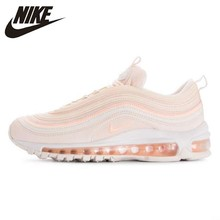 Nike Air Max 97 Woman Running Shoes Orange Powder Elastic Cushion Restore Ancient Ways Leisure Sneakers #921733-801