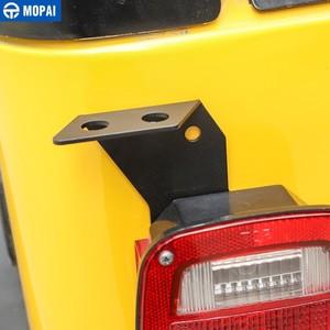 Image 3 - Mopai車のテールランプアンテナホルダージープラングラーtj 1997 から 2006 のための車のテールライトアンテナブラケットジープラングラーのためtjアクセサリー