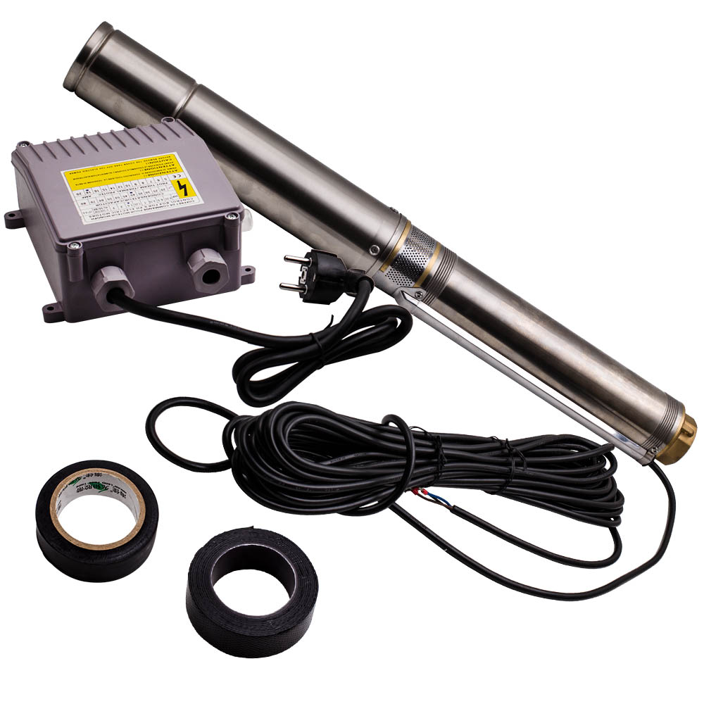 Üst Satış MSW SPP48 110 Kuyu pompası 10  800 L/h 1 100 W paslanmaz çelik 95mm title=