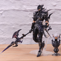 Online Figure Action Estinien Final Fantasy Game PVC Collectible Anime Model Toy 17cm