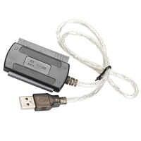 Nuevo USB 2,0 a IDE SATA 5,25 S-ATA/2,5/3.5c 480 MB/S interfaz de datos convertidor de adaptador de cable 100 piezas