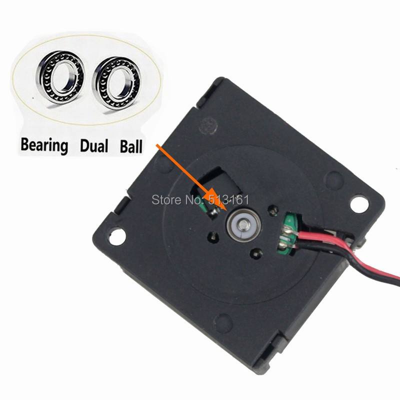2 pieces Gdstime DC 24V 2Pin Turbo Blower 30mm x 10mm 3cm 3010 Ball Bearing 3D Printer Mini Cooling Fan in Fans Cooling from Computer Office