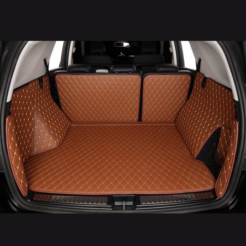 Tapis de Coffre De voiture pour Audi Avant 8K5 B8 8W5 B9 A5 F53 8T3 A5 Cabriolet 8F7 F57 A5 Sportback 8TA F5 voiture accessoires castom tapis de coffre