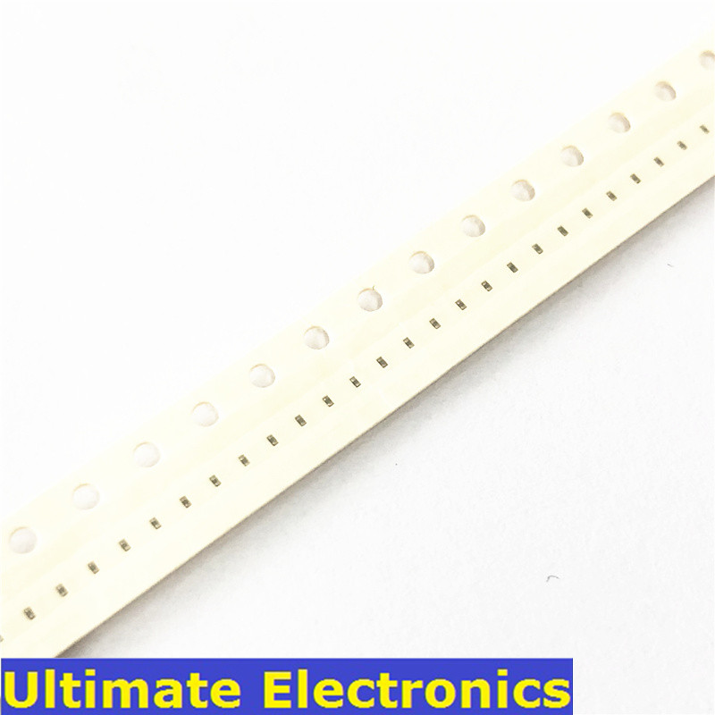 Condensateur céramique multicouche à puce SMD 100, 0201 pièces/lot, 0,5pf ~ 220nF 10pF 100pF 220pF 1nF 10nF 15nF 100nF 220nF
