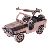 Nostalgic Models Toys Metal Crafts Figurines Miniatures Home Office Decoration Model For Living Room Small Ornament