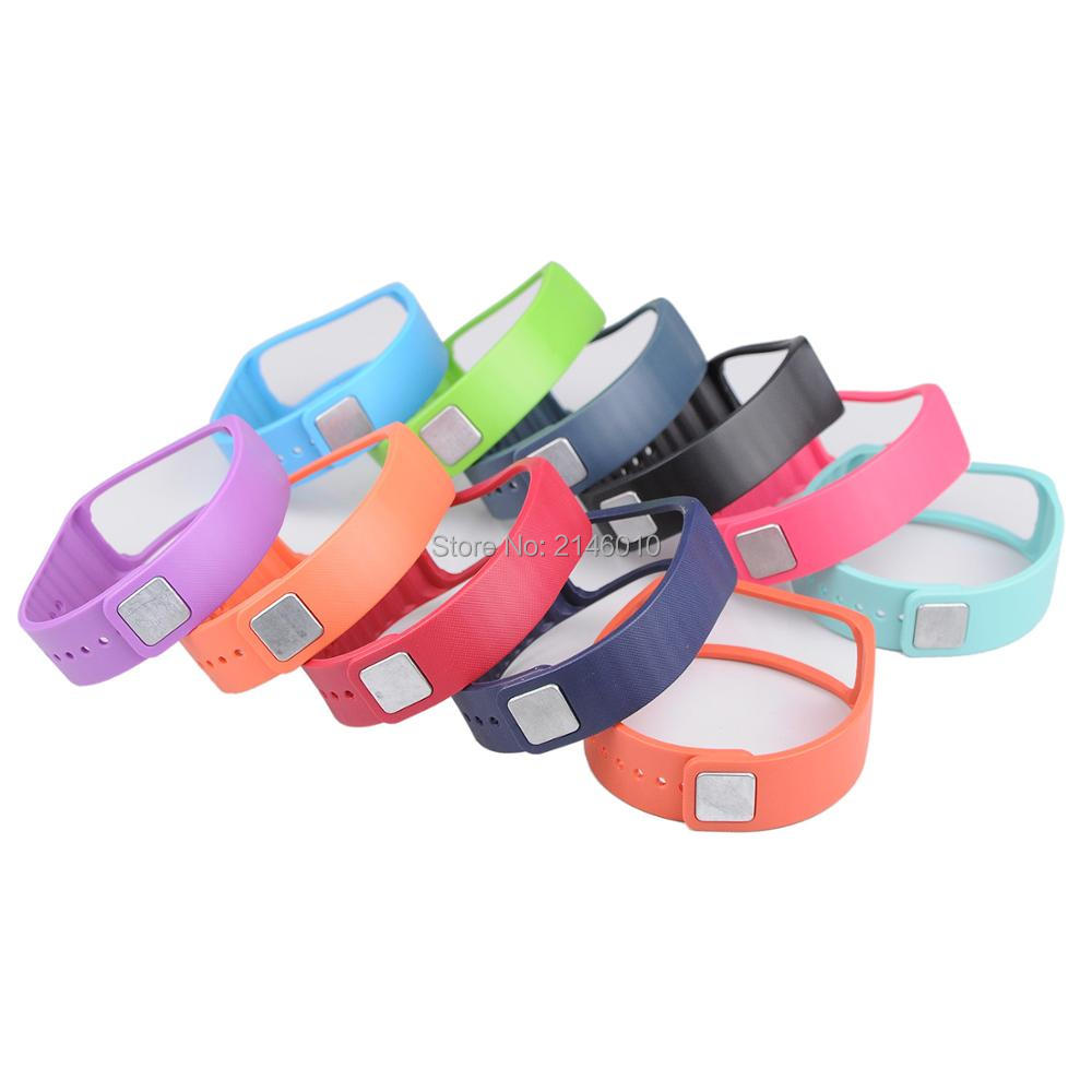 Replacement Soft Silicone Smartwatch Wrist Strap Bands Compatible For Samsung Gear Fit1 Pro R350
