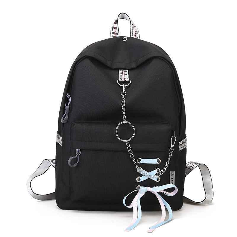 Модная вместительная сумка для покупок, рюкзак для ноутбука, рюкзак, холщовые сумки для студентов, женские школьные сумки