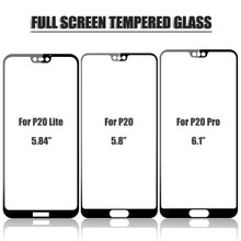 JONSNOW Tempered Glass for Huawei P20 Lite Screen Protector Pro Curved Full Protection