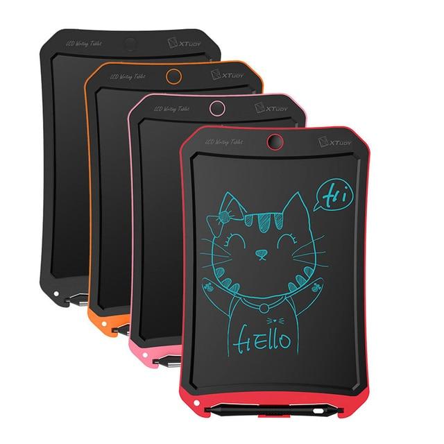 Tablette à dessin numérique LCD pour enfants, écriture graphique, tableau électronique, tableau détude cadeau pour enfants, tableau de messages avec batterie