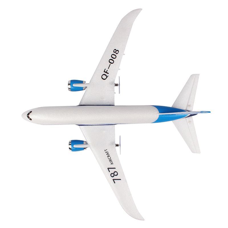 Bricolage EPP RC Drone Boeing 787 2.4G 3Ch RC avion à aile fixe avion de haute qualité poids léger plus haut volant cadeau pour les enfants