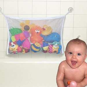 Kids Toys Tidy-Bag Mesh-Bags Hanging-Organizer Storage Bath-Toy Infant Baby with Net