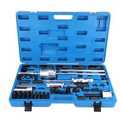 За рубежом 40 шт Common Rail Инжектор экстрактор дизельного пулера набор инжекционных инструментов набор инжекторов из углеродистой стали