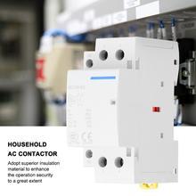 modular contactor 2P 63A 24V 220V/230V 50/60Hz Household AC Contactor DIN Rail Mount 2NO  Household ac Modular contactor 2p 32a 40a 63a 220v 230v 50 60hz din rail household ac contactor 2nc