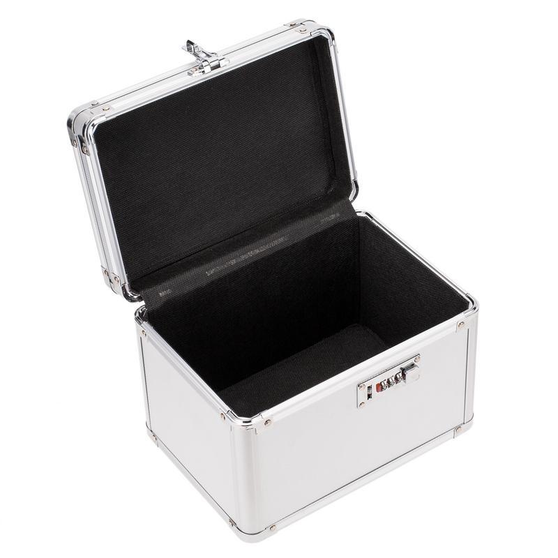 Boîte de rangement de passeport en métal boîte de rangement sûre de haute qualité organisateur cosmétique bijoux organisateur décoration de bureau de ménage - 3