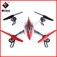WLtoys Q212 RC Helicopter 2.4G 4CH 6-Axis Gyro RTF Drone Headless Mode 3D Rolling Function Quadcopter Auto Return Drones Toy