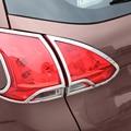 Мой хороший автомобиль ABS хромированная отделка кузова автомобиля задний фонарь лампа рамка Ручка автомобильный Стайлинг для Peugeot 2008 автом...