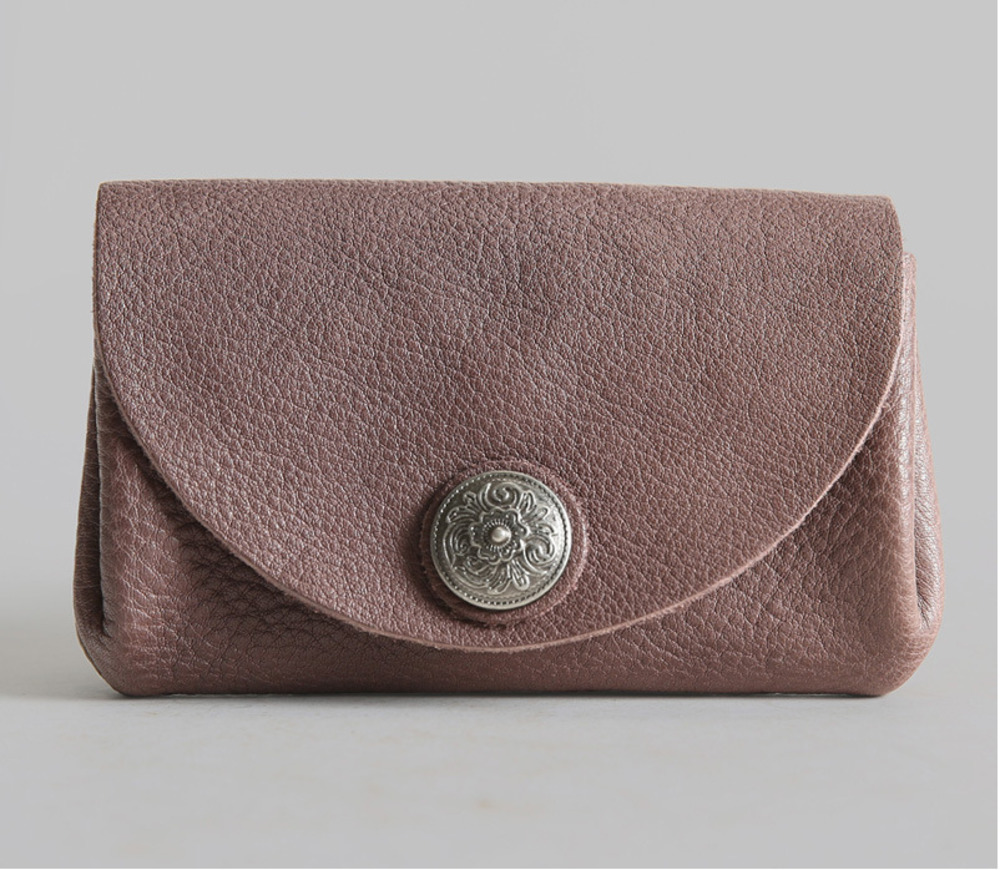 Genuine Leather Mini Women Coin Purse Vintage Vegetable Tanned Cowhide Thin Zipper Small Wallets Cards Holder Lady Coin Bag