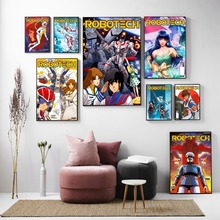 Robotech Anime Classic Issue Poster And Print Canvas Art Painting Wall Pictures For Living Room Decoration Home Decor No Frame