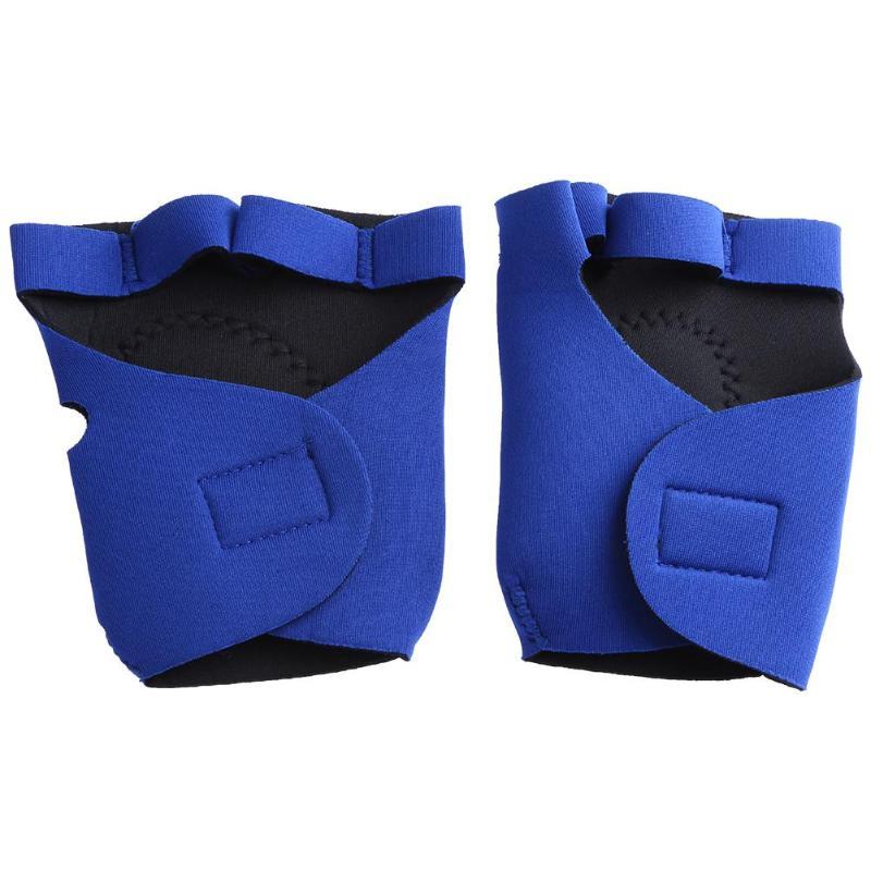 Unisex Anti Skid Half Finger Gloves Gym Wrist Wrap Exercise Glove Fitness Weight Lifting Gym Gloves Dumbbell Training Gloves