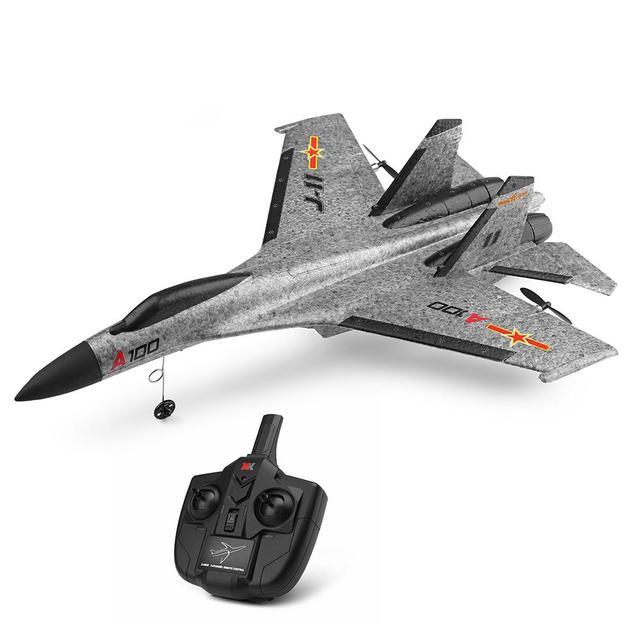 A100 J11 epp 340mm wingspan 2.4g 3ch rc avião asa fixa aeronaves construído remover controle avião brinquedos crianças presente de aniversário