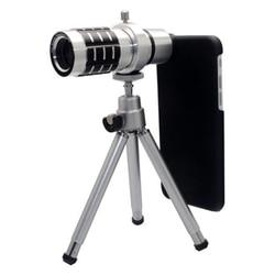 12X Optical Zoom Telescope Camera Lens Tripod Case Kit For Apple iPhone 6 Plus