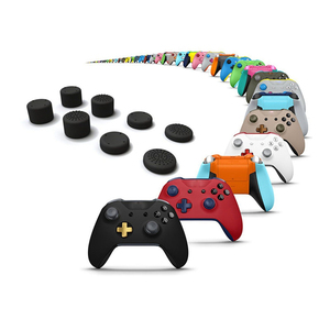 Image 5 - 8 pièces capuchon de manette analogique pouce bâton champignon tête couvercle pour Xbox One X manette de jeu