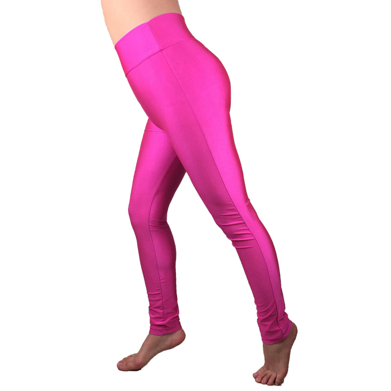 Women Party Dance High Waisted Disco Shiny Wet Look   Leggings   Stretch Pants S-XL