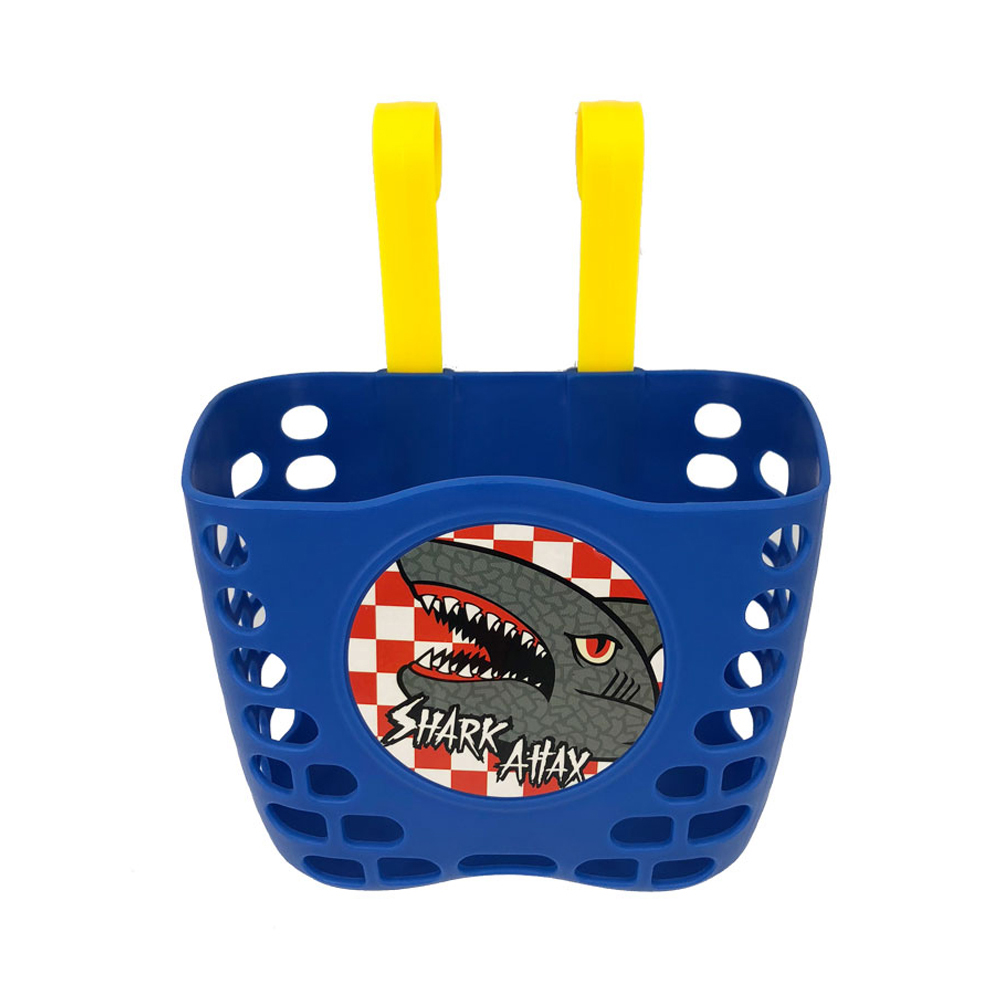 Children Plastic Bike Basket Cute Small Bicycle Carrier Handlebar Hanging Basket