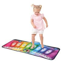Children's Music Dance Blanket Rainbow Piano Glowing Multifunctional Game Pad Educational Toys For Children