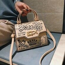 2019 Printing Crossbody Bags For Women Luxury Handbags Designer Famous Brand Bolsa Feminina Shoulder Bag Ladies Sac Main Leather