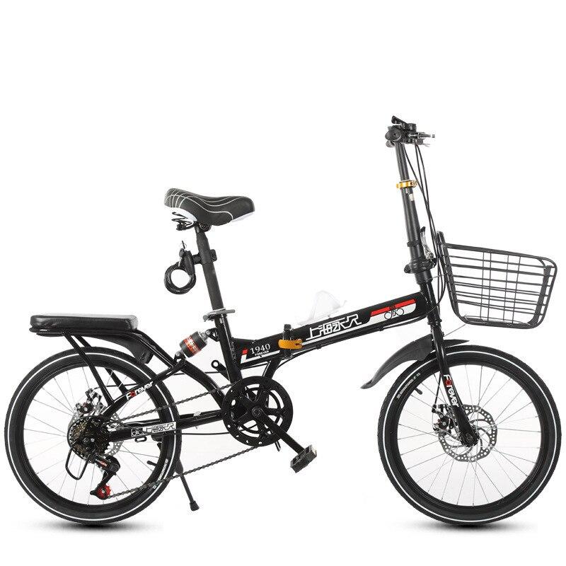 Bicicleta dobra Exceder 20 Polegada Masculino Estilo das Mulheres Passo a Passo de Luz de Absorção de Choque de Velocidade Variável Bicicleta