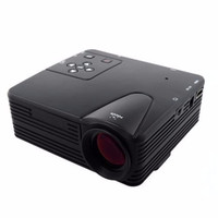 LEORY H80 mini Portable LED Projector 640x480 Pixels Supports Full HD 1080P LED Projector Video Home Theater AV/VGA/SD/USB/HDMI