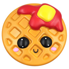 24CM Big Jumbo Bread Waffle Cake Cookies Slow Rising Soft With Good Smell Scented Collection Gift Decoration Children Toy