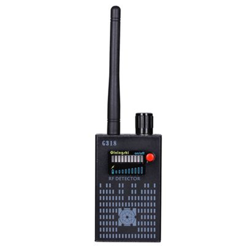 New update 1mhz-8000mhz Wireless Radio Signal Detector WiFi Wave Bug Detector Full-Range Camera RF detector of G318New update 1mhz-8000mhz Wireless Radio Signal Detector WiFi Wave Bug Detector Full-Range Camera RF detector of G318
