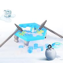 None Penguin Ice Kids Puzzle Game Break Block Hammer Trap Party Toy
