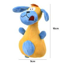 Big Ears Dog Plush Toys With Sound Designed Be A Cute In The Shape Of Bowling Pin Fabric Super Soft Short