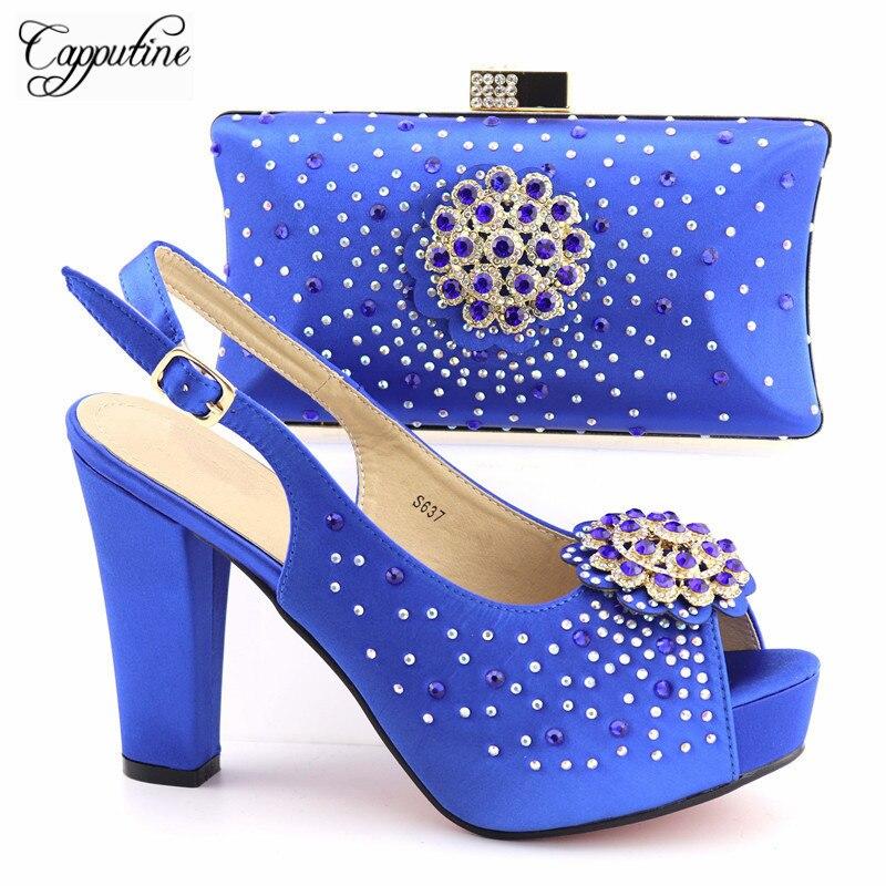 c3b665c8485b1 Tx Sommer grün Verziert Tasche Schuhe Italienische Set Zu 637 Auf Qualität  Und Passen Verkauf Mit gold wine Strass Mode Party Hohe ...