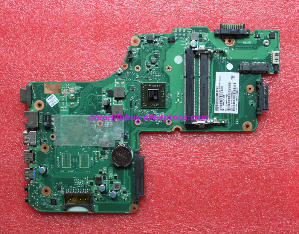 Genuine V000325120 w E1-2100 CPU 6050A2556901 Laptop <font><b>Motherboard</b></font> Mainboard <font><b>for</b></font> <font><b>Toshiba</b></font> C50D <font><b>C55D</b></font> <font><b>C55D</b></font>-A Notebook PC image