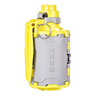 T238 V2 Large Capacity Water Bomb Toy with Time delayed Function for Gel Ball BBs Airsoft War game Grey + Yellow