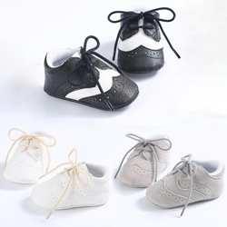 Обувь для малышей 0-1 лет, обувь для маленьких мальчиков и девочек, нескользящая повседневная обувь на резиновой подошве для малышей
