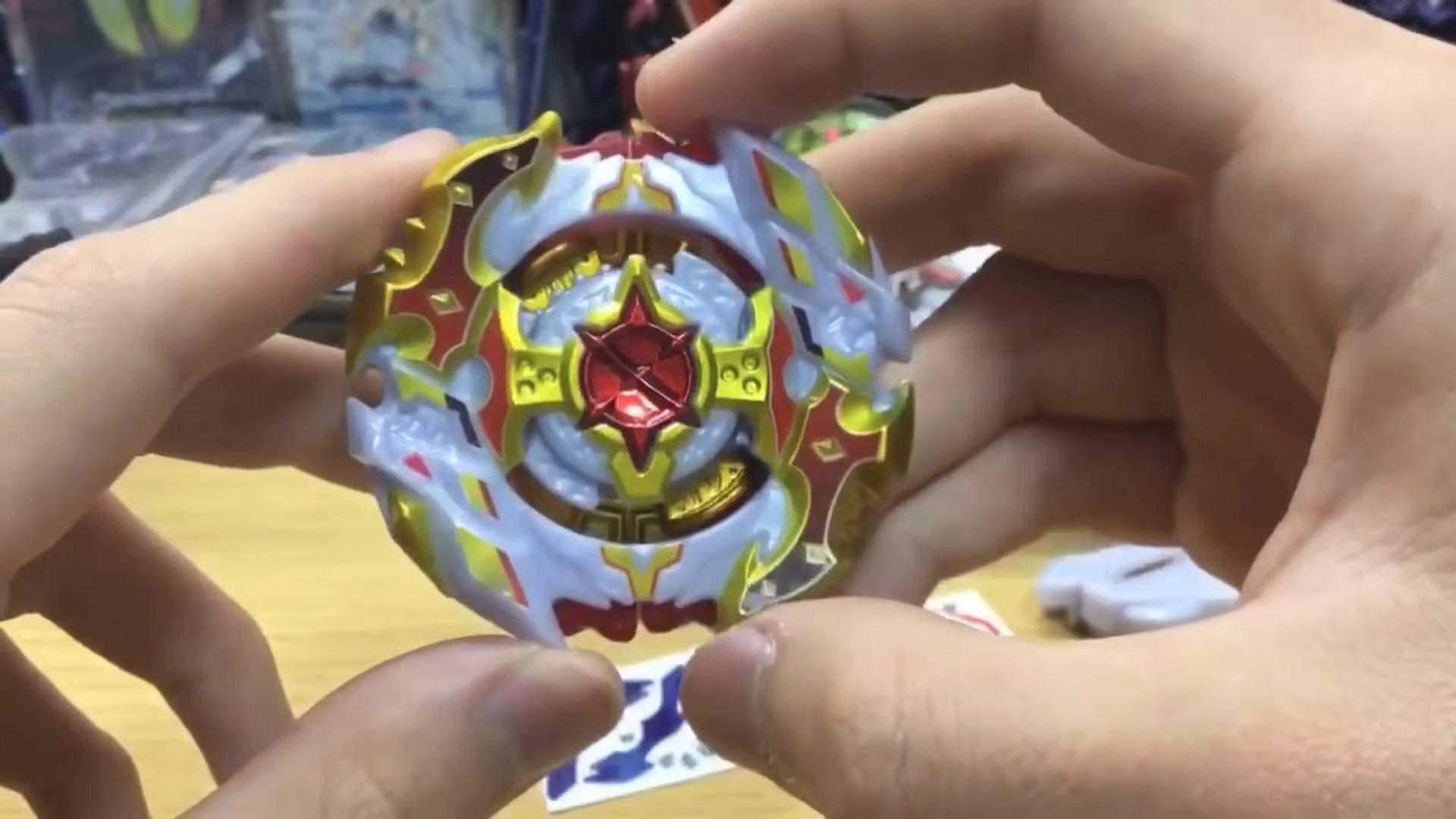 B-00 Original de lame de Bayblade de takaratomie CHO-Z Super Z Spragan (roi Royal Ver.). 10.Jl bey lame de bayblade haut Spinner jouet pour garçon