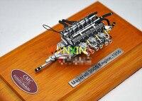CMC 1/18 Масштаб модели 1956 Maserati 300 S деревянное основание Модель двигателя игрушки из сплава Хобби Коллекционные Подарки Бесплатная доставка EMS