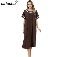 Xalat Rus Traditional Style Rich & Fat Night Dresses Body Weight Up To 45-95kg Multifunctional Pregnant Woman Home Robes S105