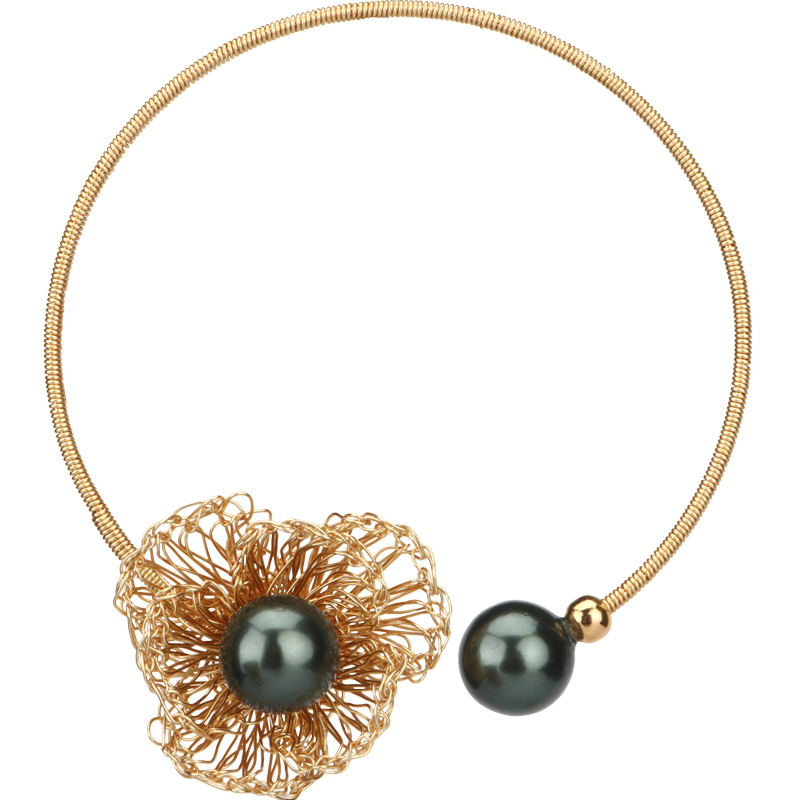 Eilepura Natural Fresh Water Baroque Black Pearl Bracelets Gift For Women Adjustable Bracelets Bangle Fine Jewellery B A010 in Bracelets Bangles from Jewelry Accessories