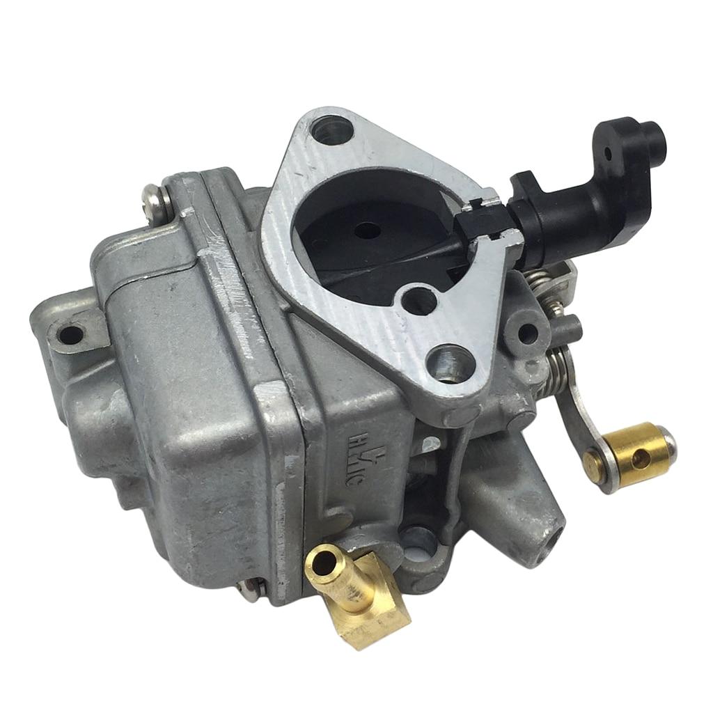 1 Pcs Outboard Engine Aluminum Carburetor Carbs Assy For Yamaha 4 stroke 6HP Boat Motor 4