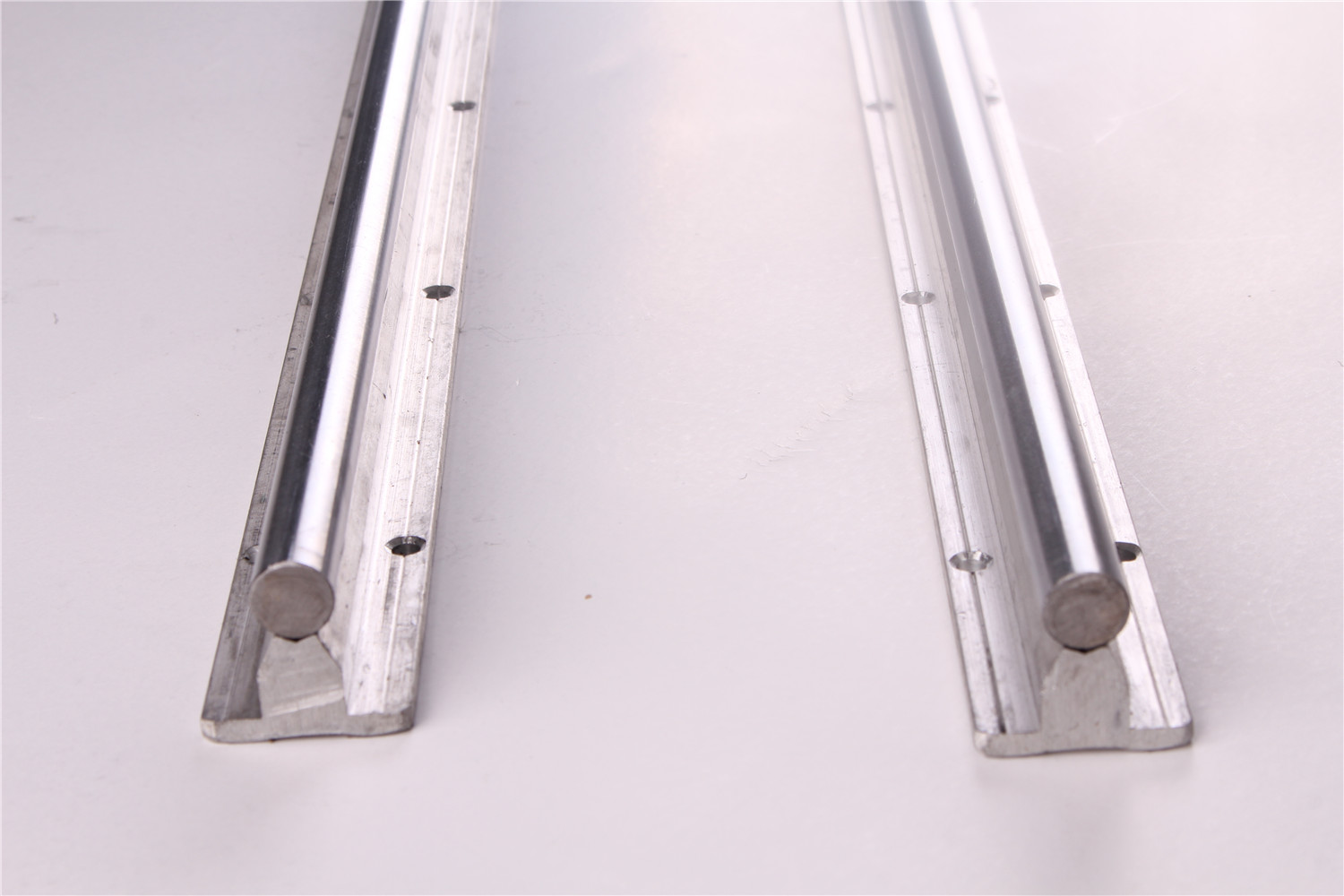 2pcs bearing linear supported rail sbr25mm - 500mm 800mm 1000mm 1200mm 1500mm linear guide rail shaft rod CNC rounter2pcs bearing linear supported rail sbr25mm - 500mm 800mm 1000mm 1200mm 1500mm linear guide rail shaft rod CNC rounter