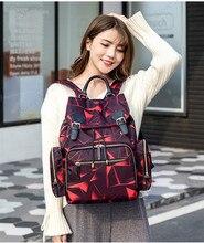 Diaper Bag Mommy Backpack Baby Stroller Bag Waterproof Oxford Handbag Nursing Nappy Bag Maternity Travel Print Bag For Baby Care цена 2017